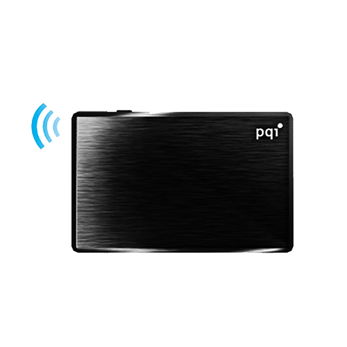 PQI Air Drive A100 無線Wifi 讀卡機(工業包祼裝)-黑色