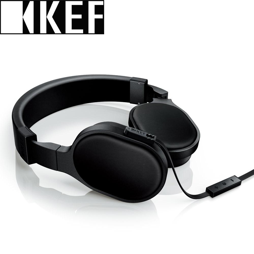 英國 KEF M500 Hi-Fi 耳罩式耳機-黑