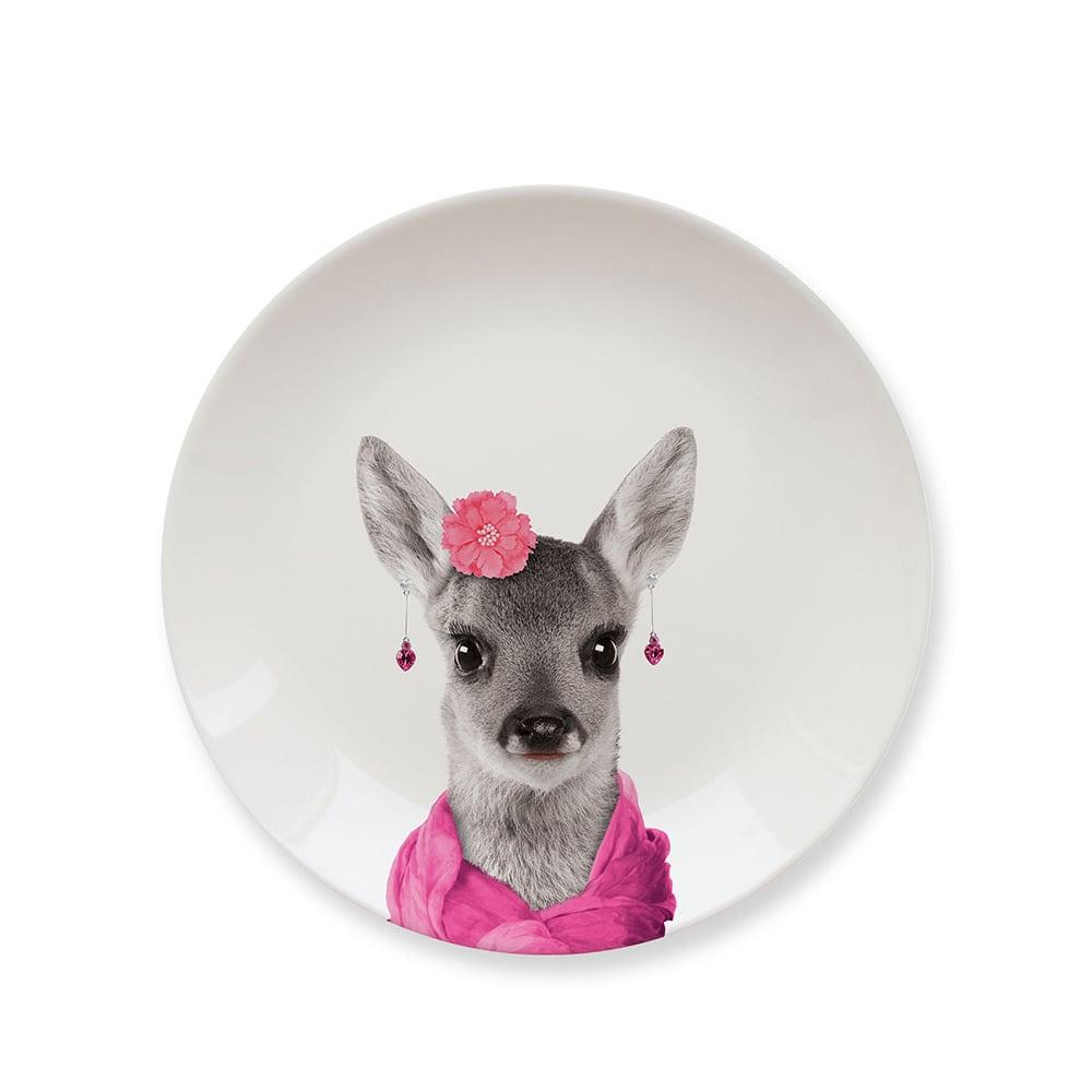英國 Mustard 動物餐盤 7 吋 - 靚小鹿