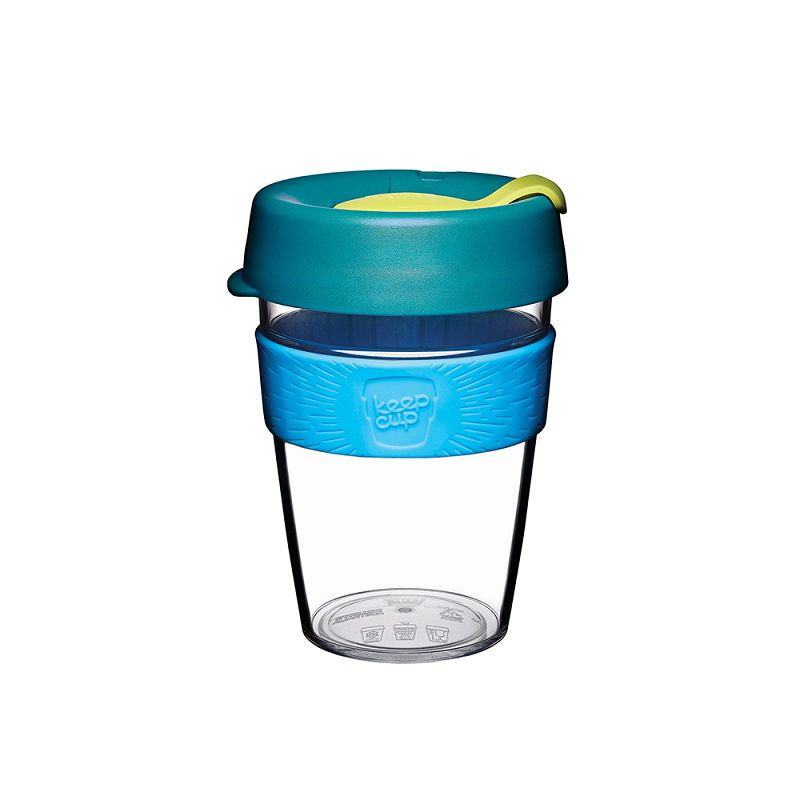 澳洲 KeepCup 隨身咖啡杯 晶透系列 M - 極光
