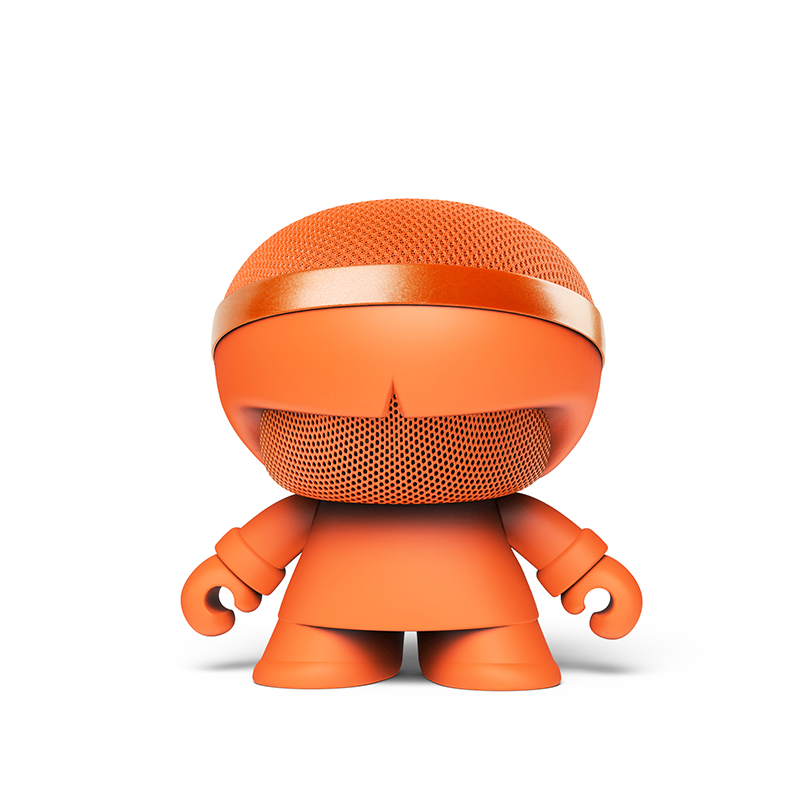 Xoopar BOY STEREO X5 藍牙喇叭&支援兩顆串聯立體聲道-橘色