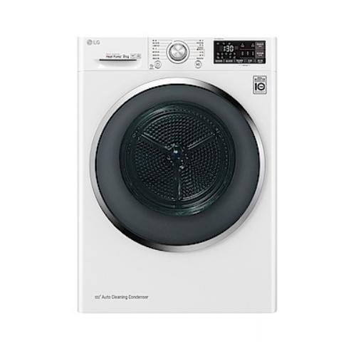 【LG樂金】9KG 變頻熱泵式低溫除濕乾衣機 WR-90TW 冰磁白