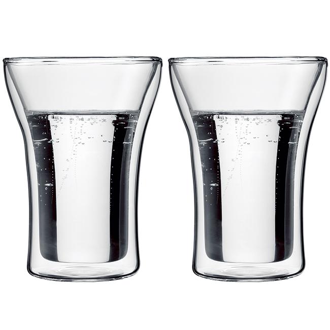 丹麥Bodum ASSAM雙層玻璃杯250CC(一盒二入)