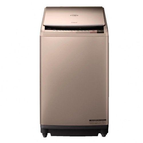 HITACHI日立 10KG 變頻直立式洗脫烘洗衣機 SFBWD10W 香檳金(已94折優惠)