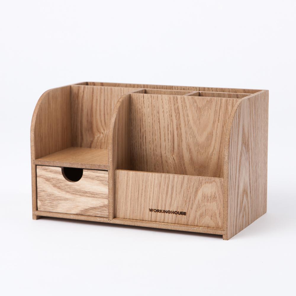 木質森活多功能收納盒-生活工場