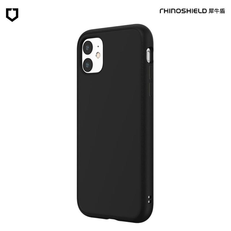 犀牛盾 SolidSuit 防摔背蓋手機殼 iPhone 11 6.1(2019) 經典黑