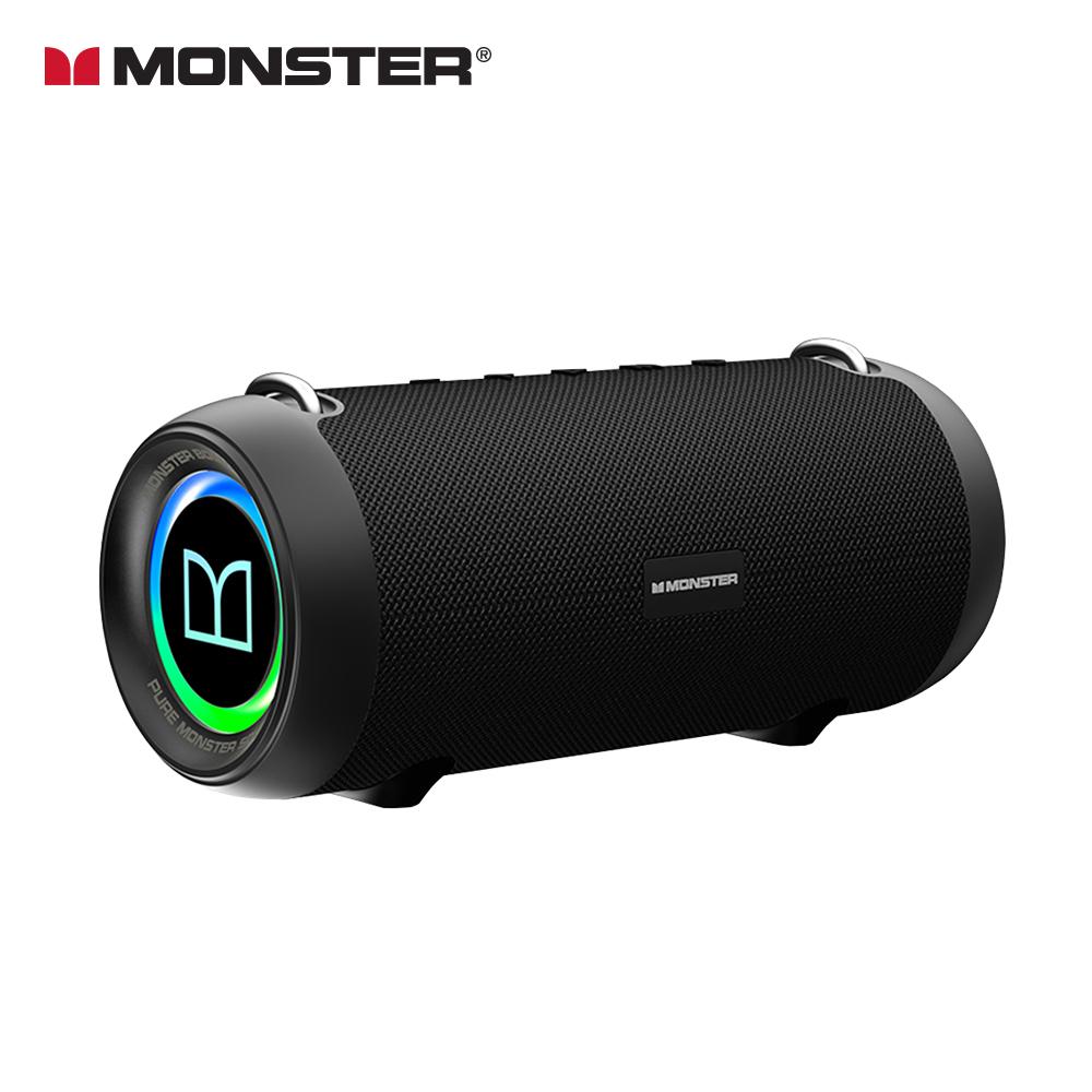 MONSTER 魔聲 BoomBox XS 真無線重低音防水藍牙喇叭-經典黑