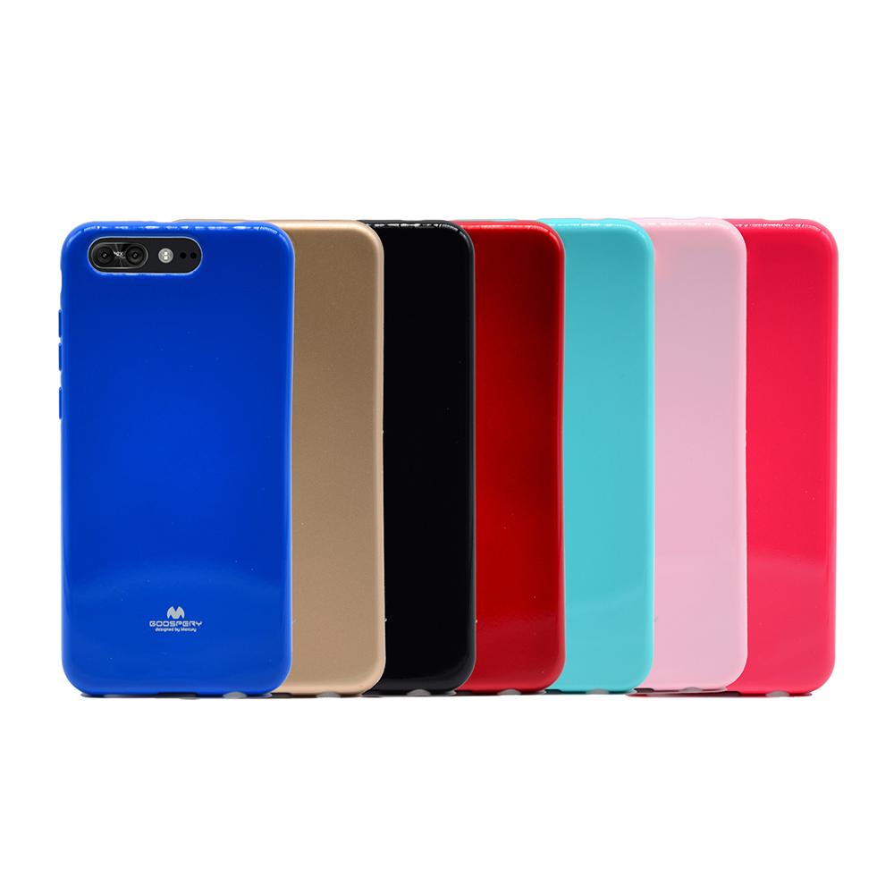GOOSPERY ASUS ZenFone 4 Pro ZS551KL JELLY 閃粉套(紅色)