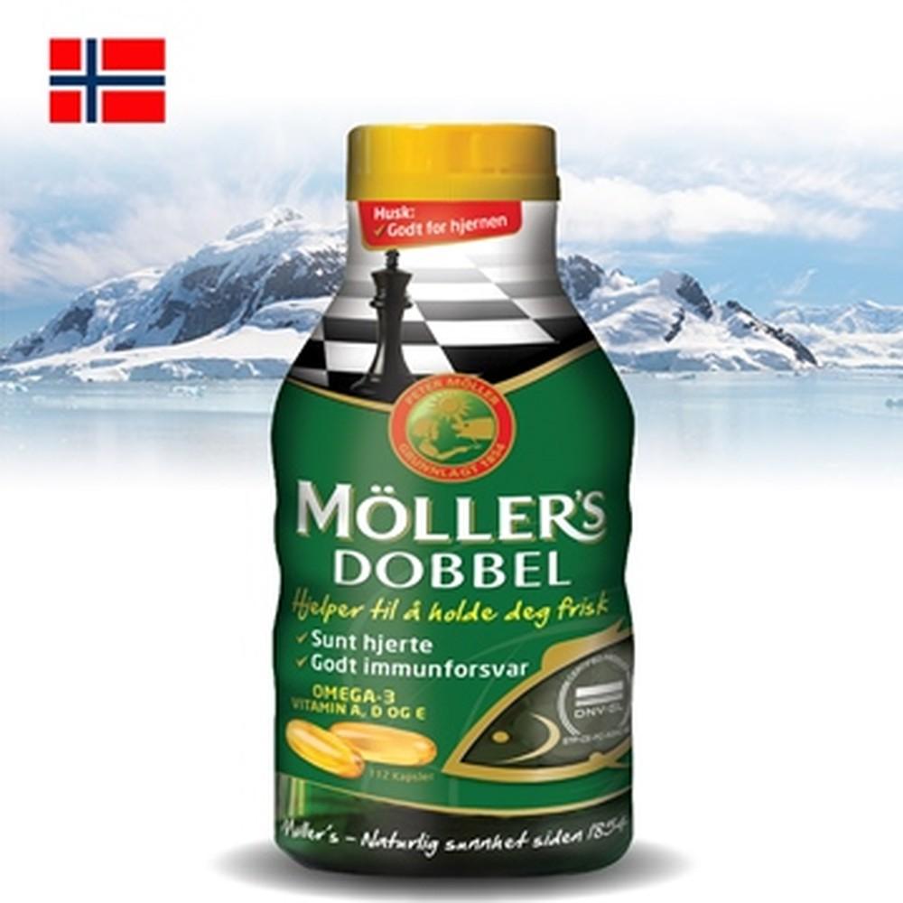 Möller's 沐樂思 經典全能膠囊(112顆/瓶)(效期2019.06)