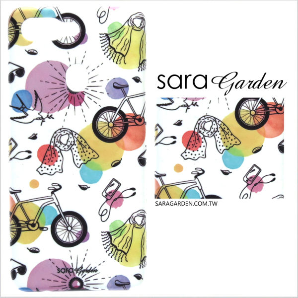【Sara Garden】客製化 手機殼 Samsung 三星 Galaxy A50 保護殼 硬殼 手繪河岸輕旅行