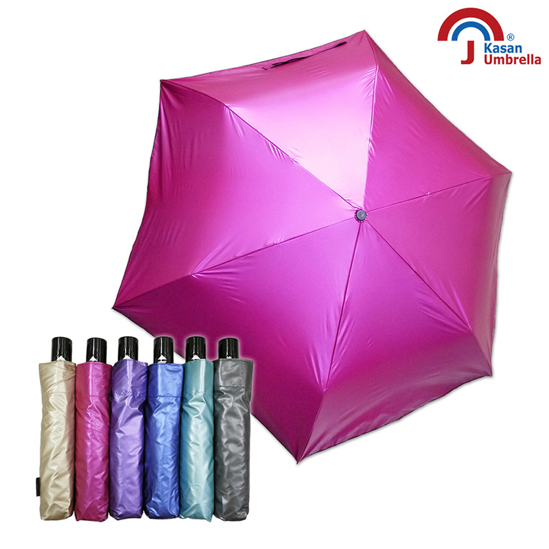 Kasan 晴雨傘 輕量防風抗UV自動雨傘 日光美人 亮桃