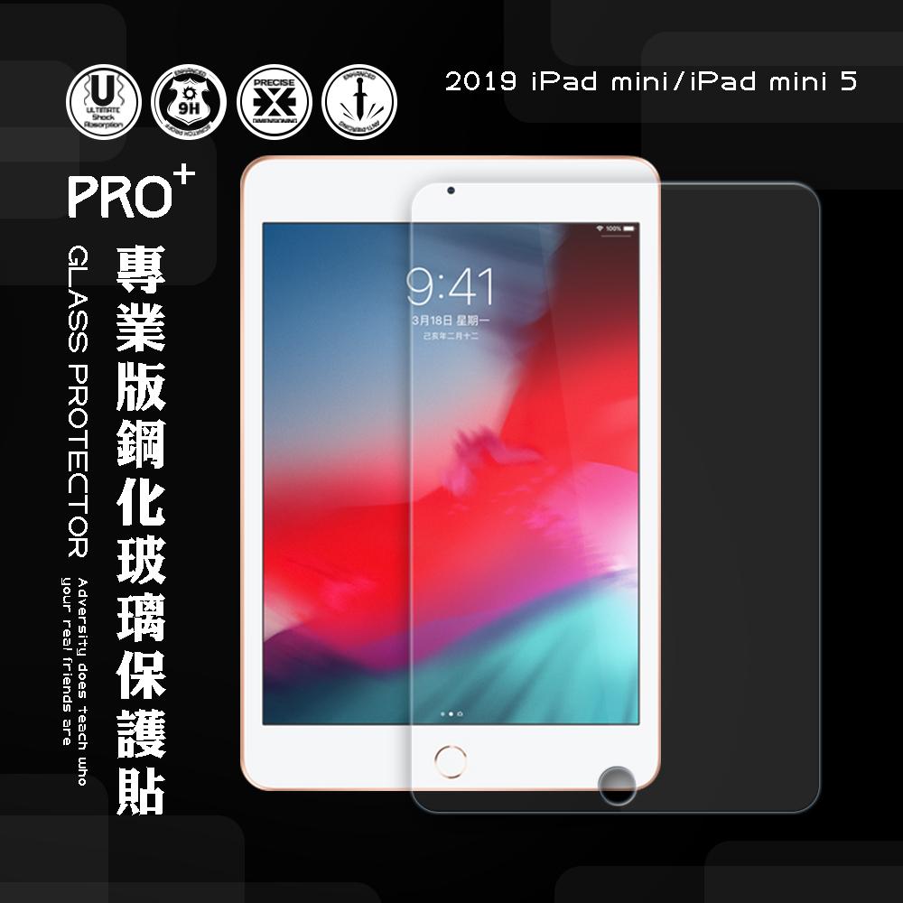 2019 iPad mini/iPad mini 5 專業版疏水疏油9H鋼化玻璃膜 平板玻璃貼