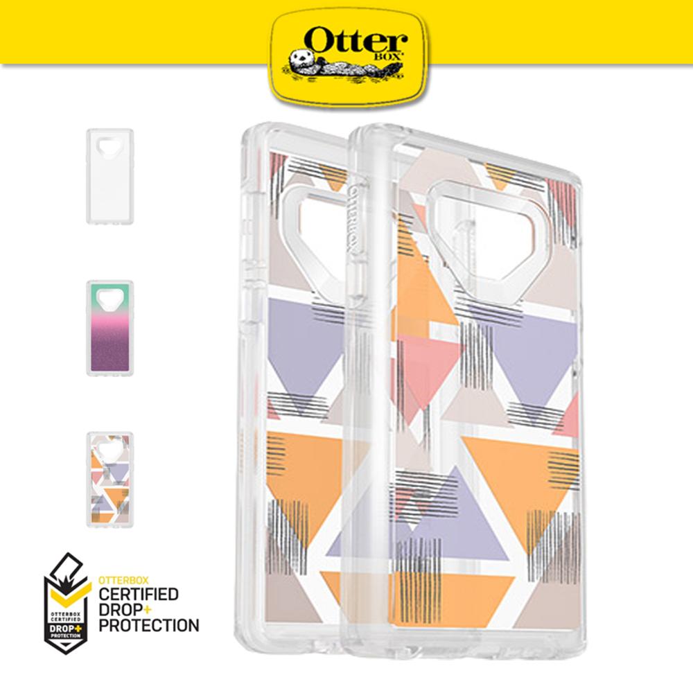 【OtterBox】Galaxy Note9 Symmetry 炫彩系列 防撞手機殼 透明幾何