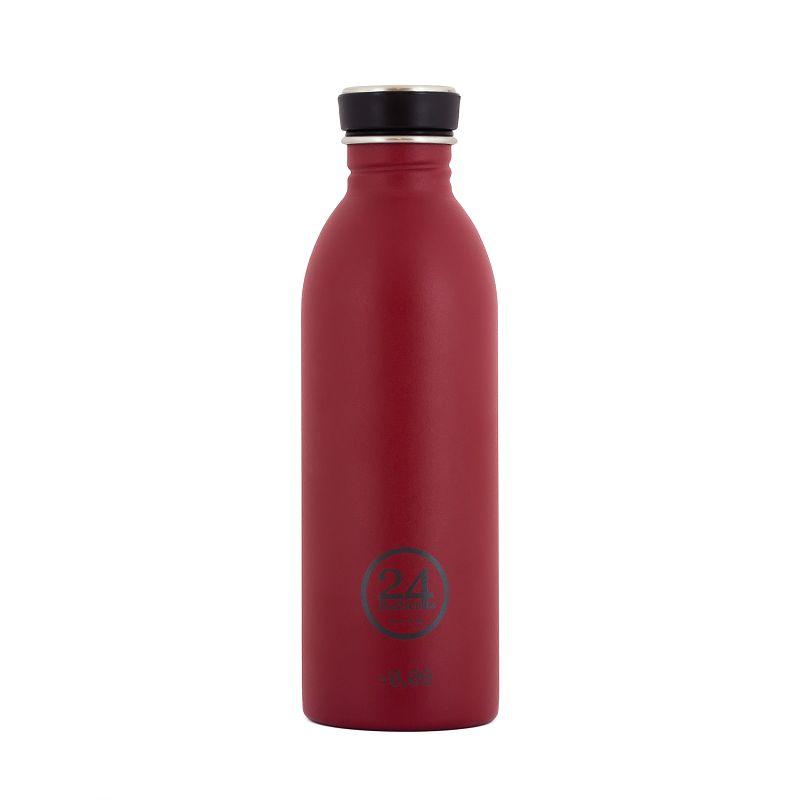義大利 24Bottles 城市水瓶 500ml - 酒釀紅