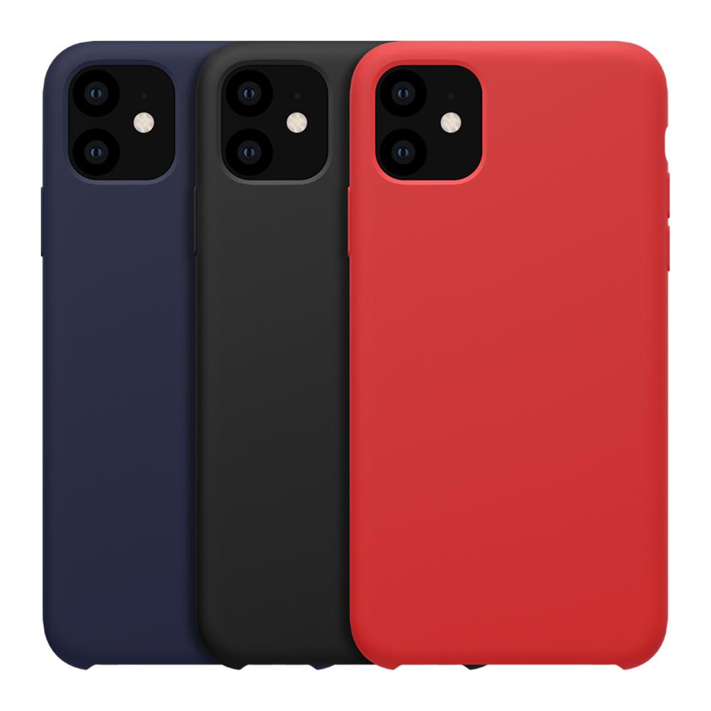 NILLKIN Apple iPhone 11 Pro Max 感系列液態矽膠殼(藍色)