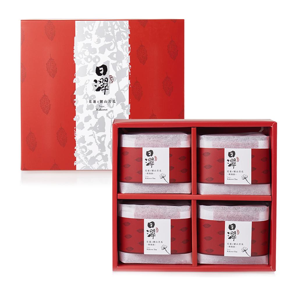 【日濢Tsuie】花蓮4號山苦瓜美朝顏飲禮盒組(60包/盒)