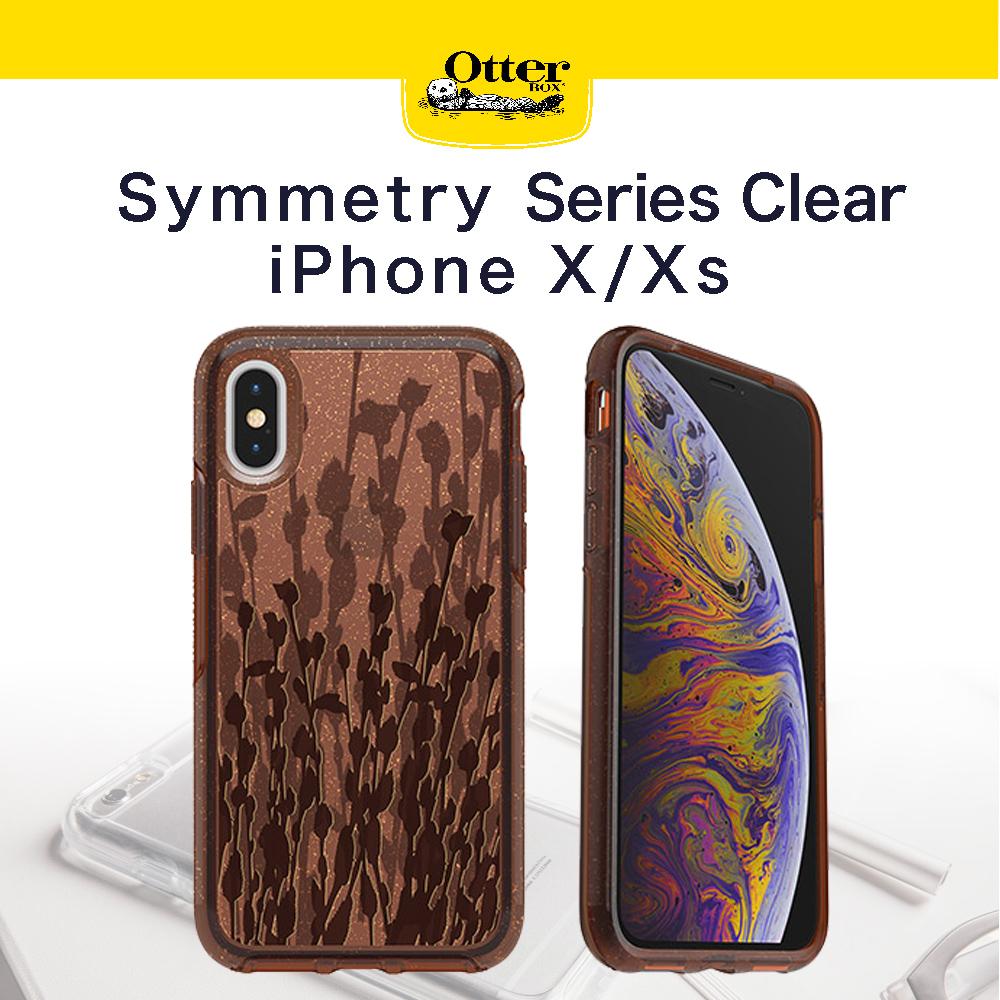 【OtterBox】iPhoneX/XS Symmetry 炫彩透明系列 防撞保護殼 透明柳