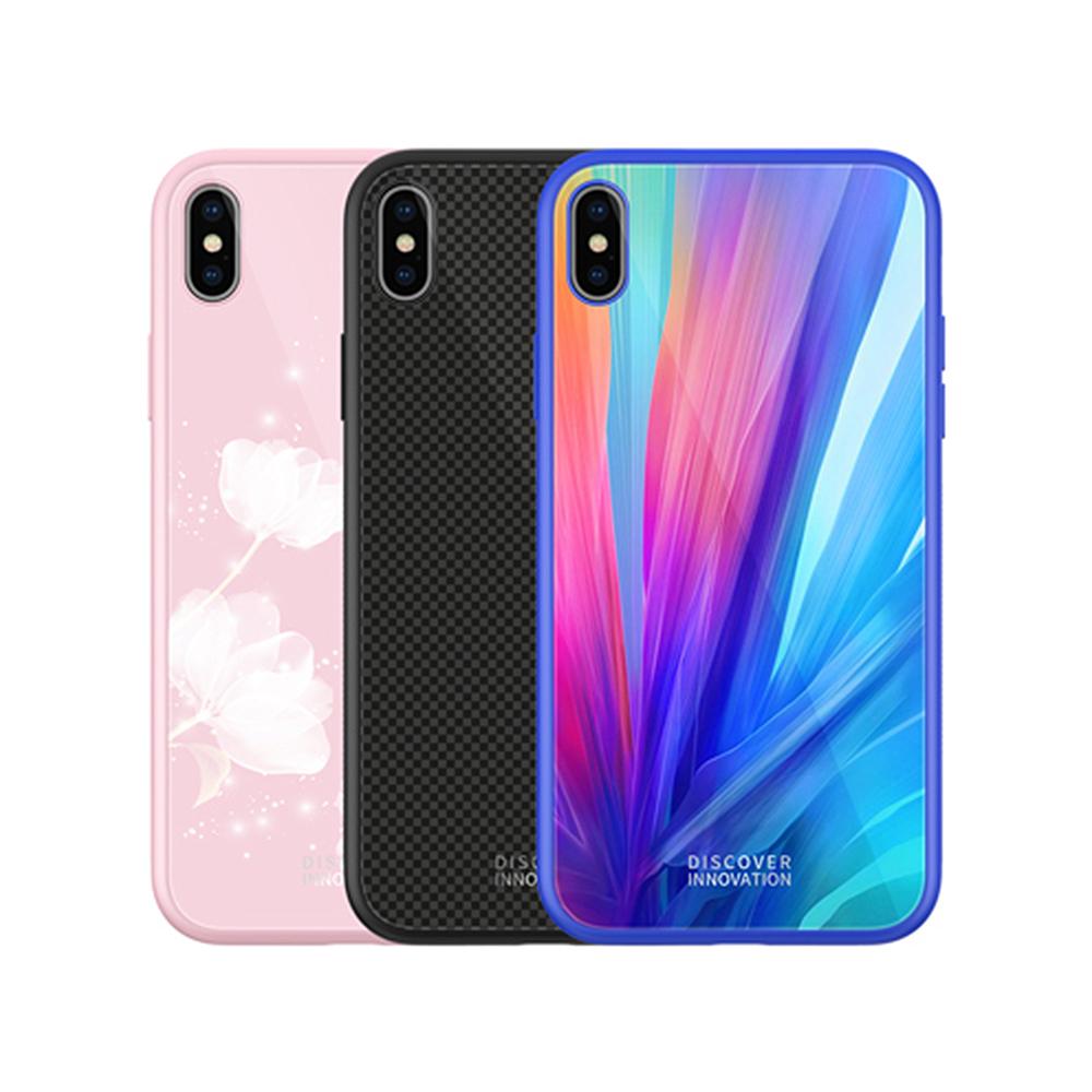 NILLKIN Apple iPhone Xs 晶曜保護套(粉色)