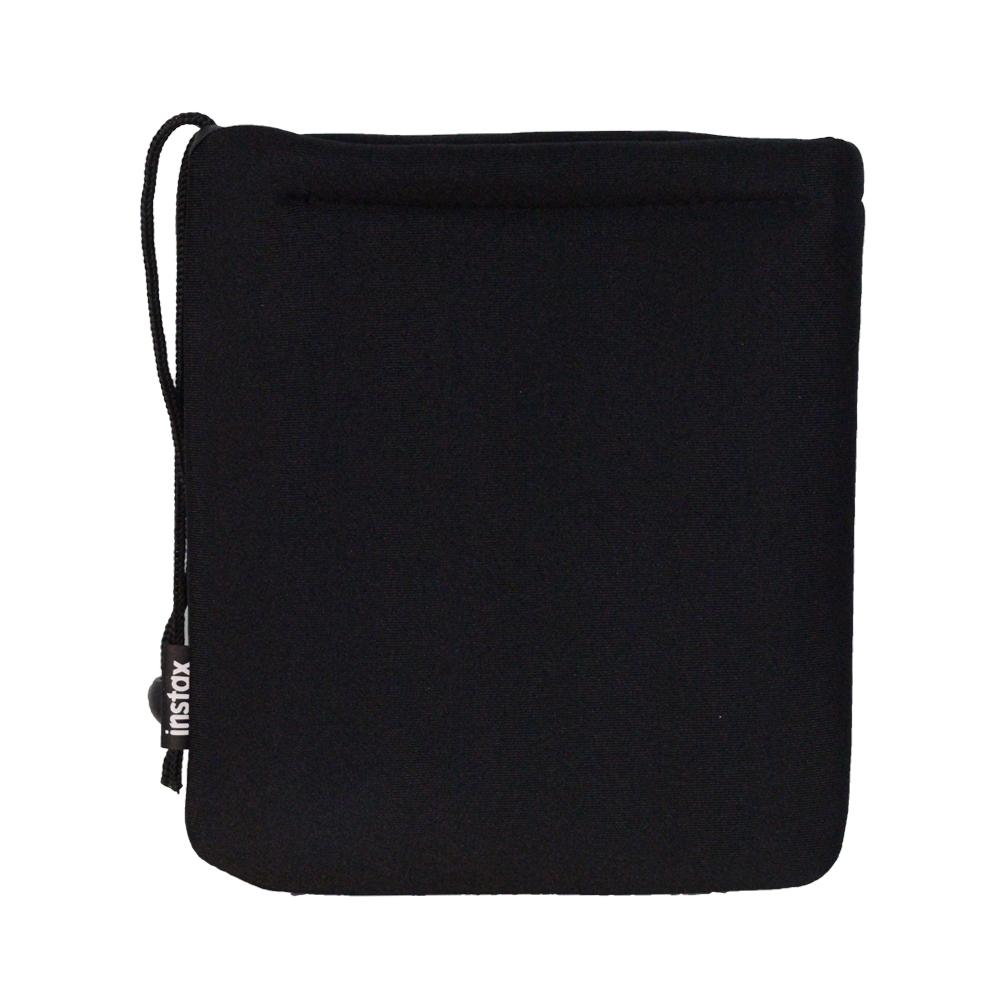 FUJIFILM instax mini 原廠拍立得軟墊袋 SOFT CUSHION POUCH_黑色