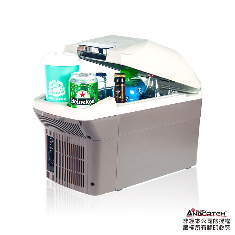 【安伯特】冰炫風 冷/熱兩用行動冰箱9L-附背帶 車用冰箱 汽車冰箱 車載小冰箱 迷你冰箱 數位冰箱 扶手箱
