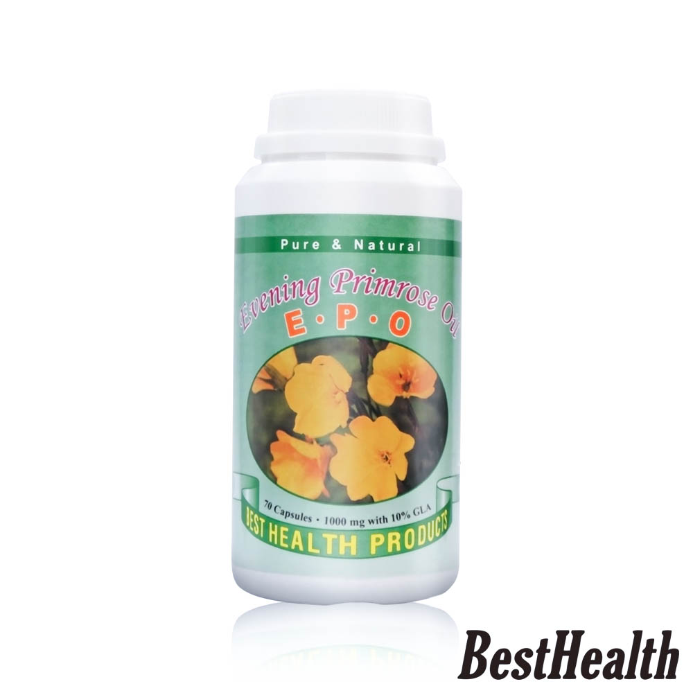 【Best Health】紐西蘭月見草膠囊(70粒/瓶)