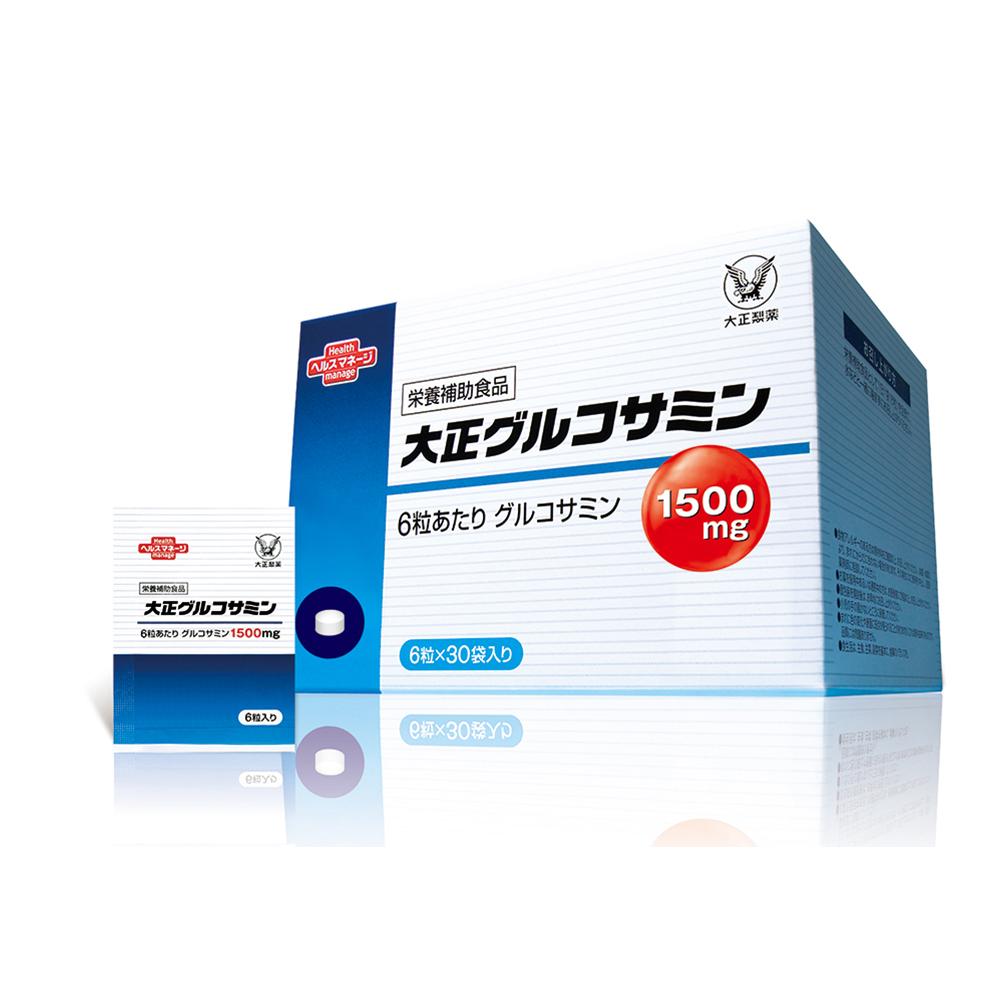 【大正製藥】葡萄糖胺錠(6錠*30包)