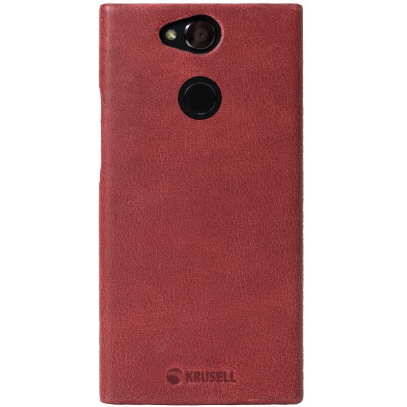 Krusell Sony Xperia XA2 Sunne 手機皮背蓋 紅