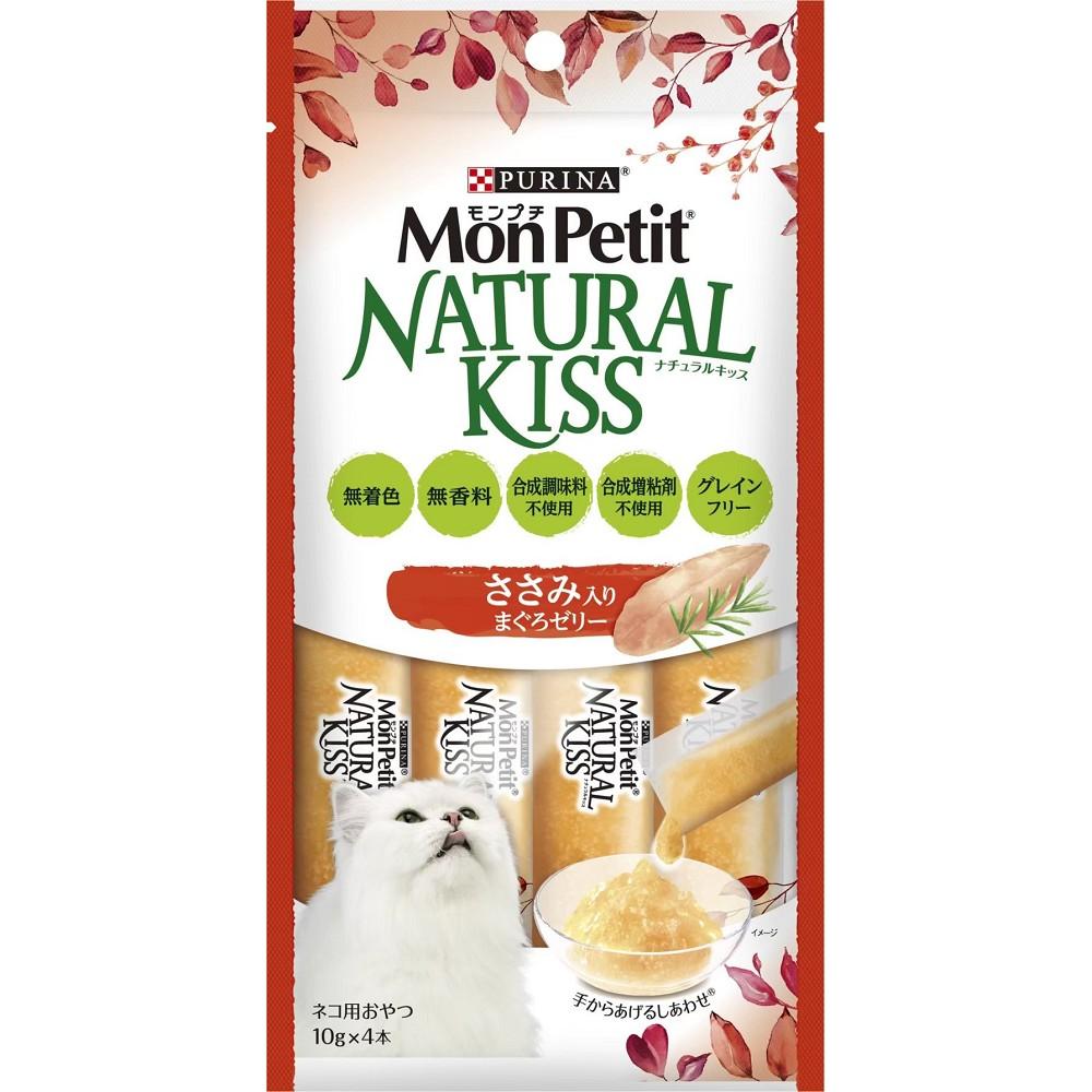 MonPetit貓倍麗天然小鮮肉泥 10g*4條 6入 鮮鲔香雞