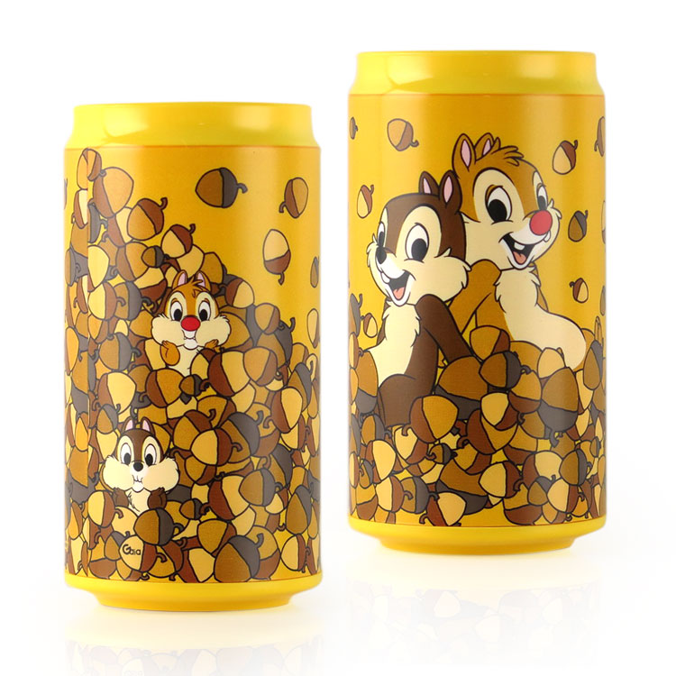Disney迪士尼 10400 奇奇蒂蒂 飲料罐造型行動電源/移動電源-主題