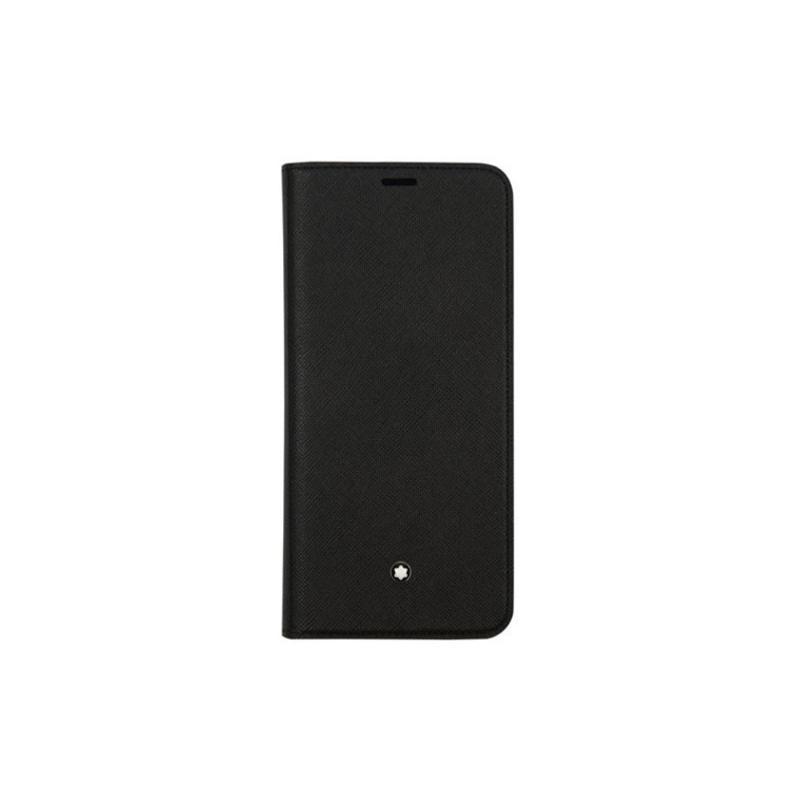 SAMSUNG Galaxy S9 Montblanc翻頁式背蓋 黑
