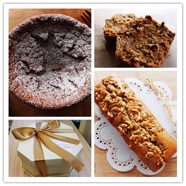 《樂米工坊》綜合蛋糕組(6吋金典巧克力*1+酒釀桂圓磅蛋糕*1)