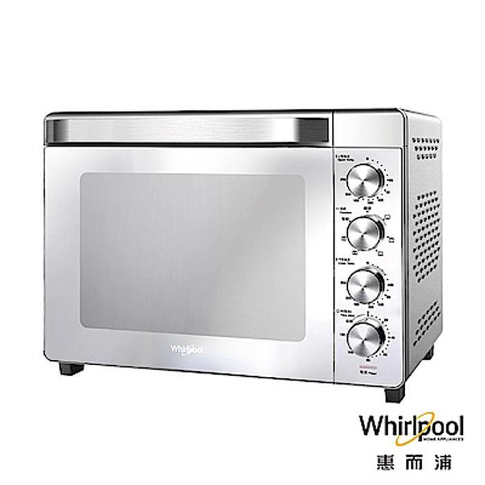 【Whirlpool惠而浦】32L 32公升 不鏽鋼雙溫控旋風烤箱 (台灣惠而浦公司貨)
