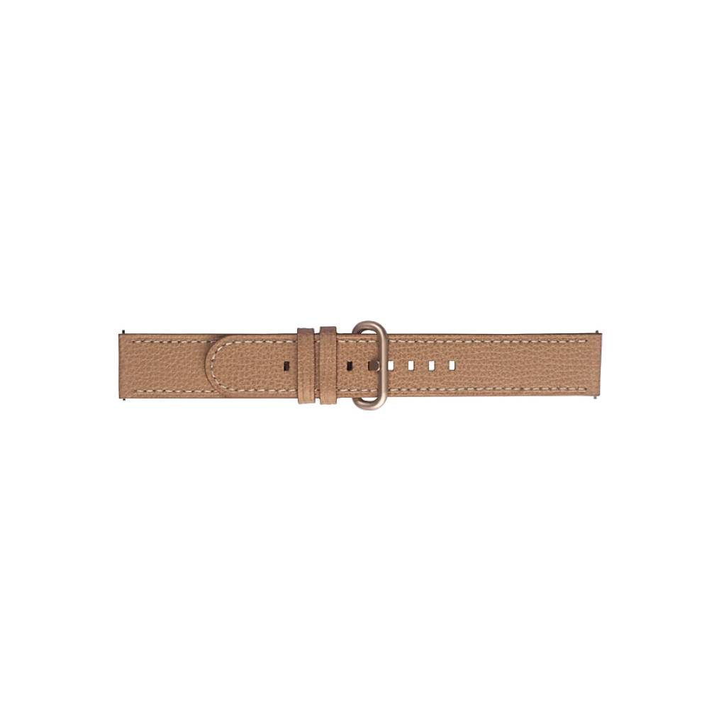 Braloba Essence 皮革錶帶 20mm 淺褐色
