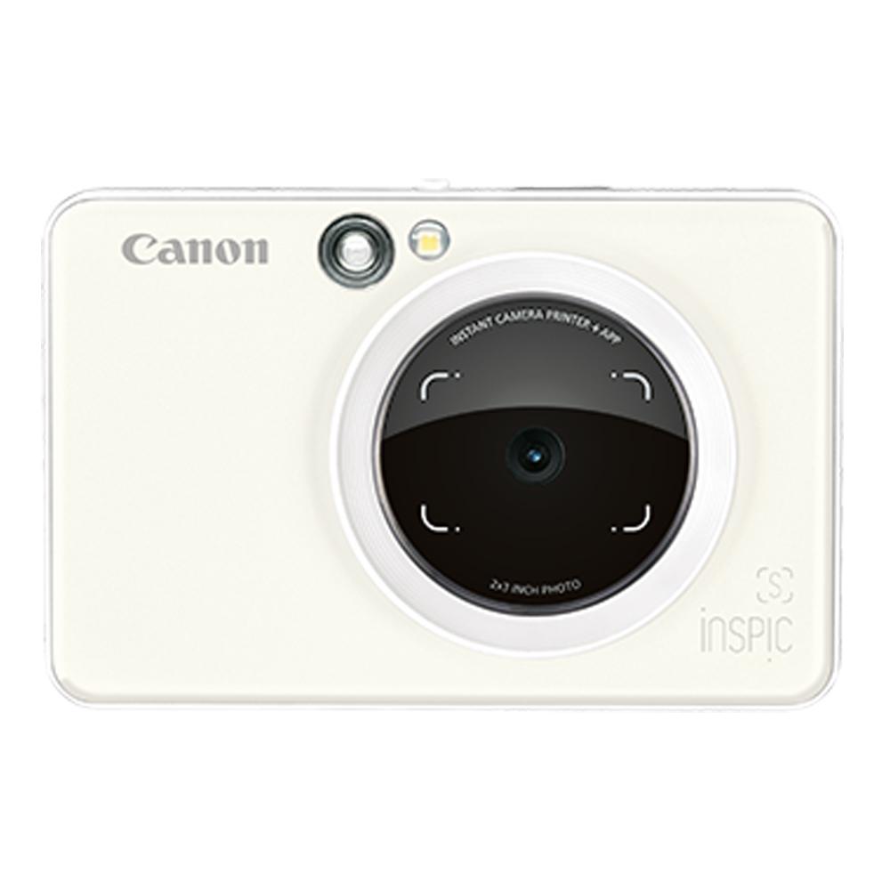 Canon iNSPiC [S] ZV-123A 拍可印相機(公司貨)/珍珠白-送相冊+收納包+30張底片(含盒內)