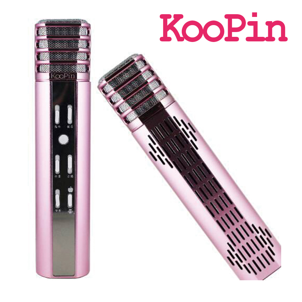 KOOPIN K歌神麥 無線藍芽麥克風 K8 玫瑰金