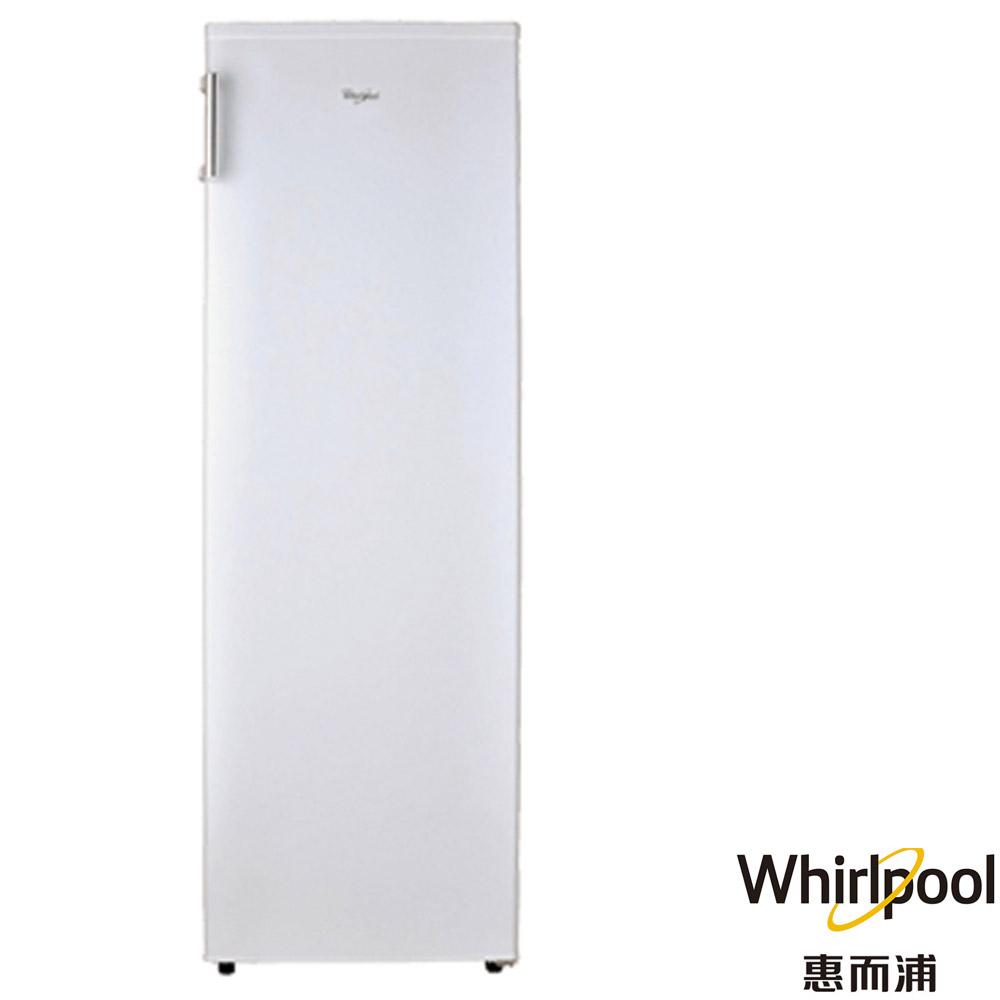 (送您西華刀具6件組) Whirlpool 惠而浦 193公升 直立式單門冰櫃 冷凍櫃 純白色 WIF1193W