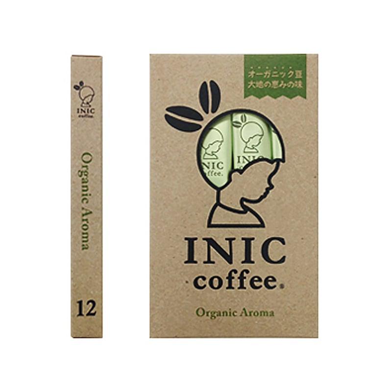 【日本INIC coffee】自然農法咖啡〈12入組〉