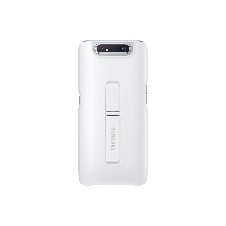 SAMSUNG Galaxy A80 立架式背蓋 白
