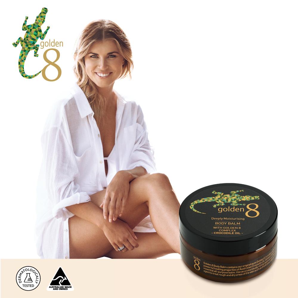 【澳洲Golden 8】鱷魚油鎖水保濕多效修護膏100g
