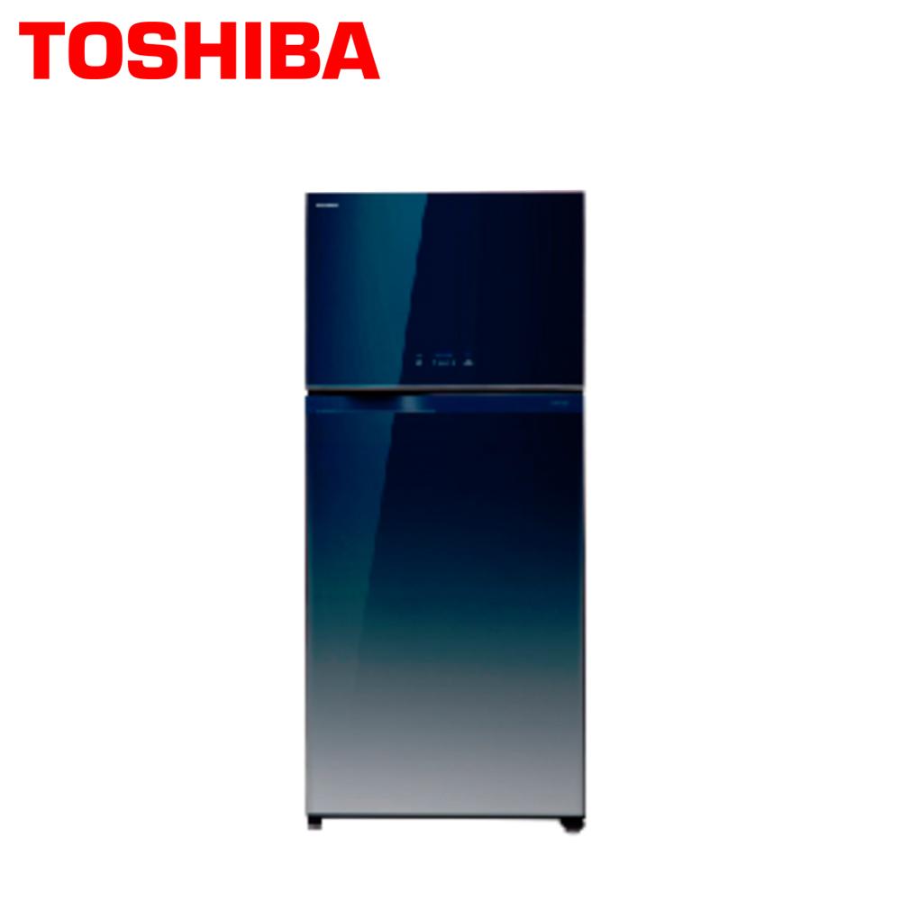 【TOSHIBA東芝】608公升玻璃鏡面變頻雙門冰箱GR-WG66TDZ(GG)