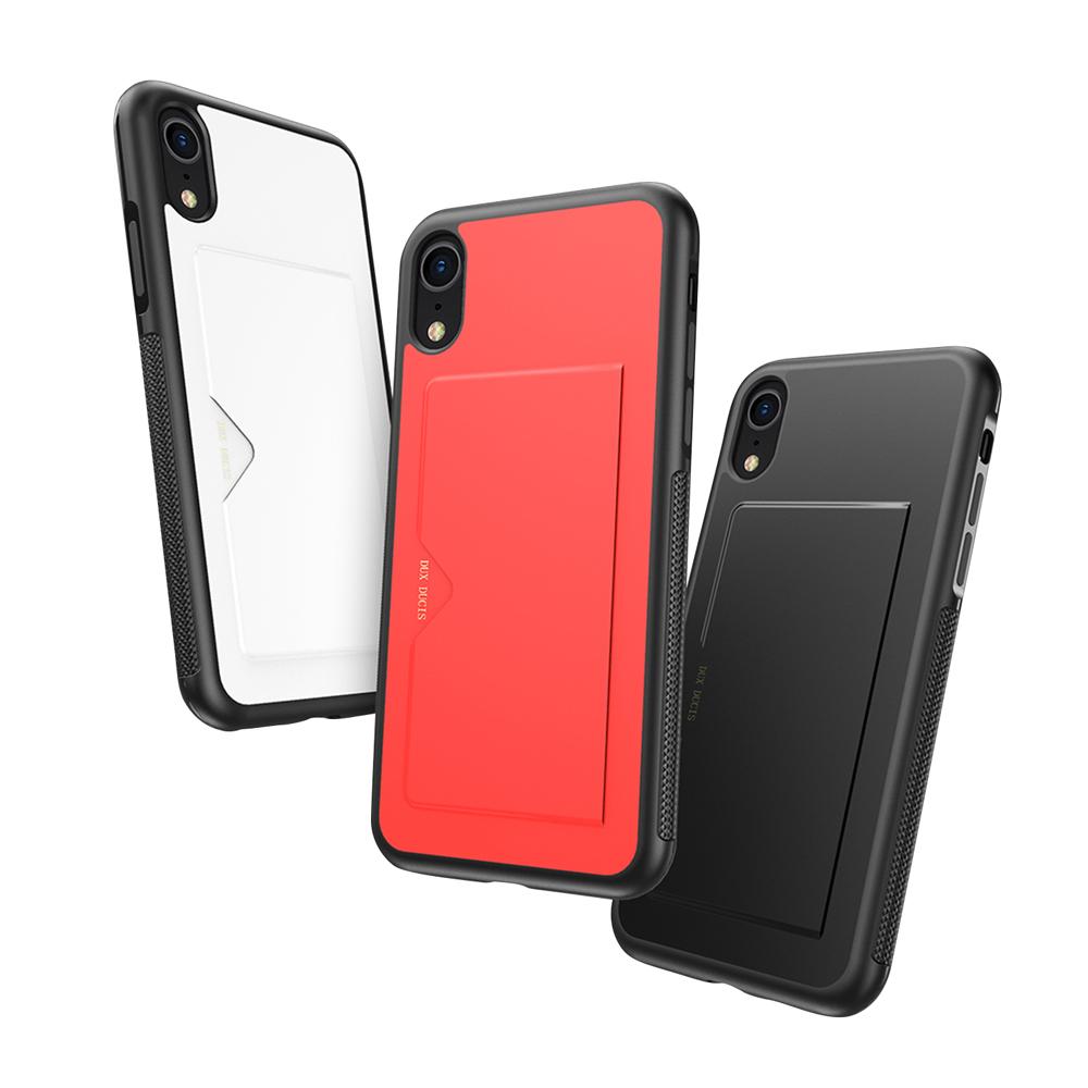 DUX DUCIS Apple iPhone XR POCARD 後卡殼(紅色)