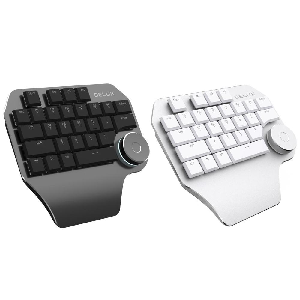 DeLUX T11 Designer 設計師鍵盤(PC/MAC)(銀白色)