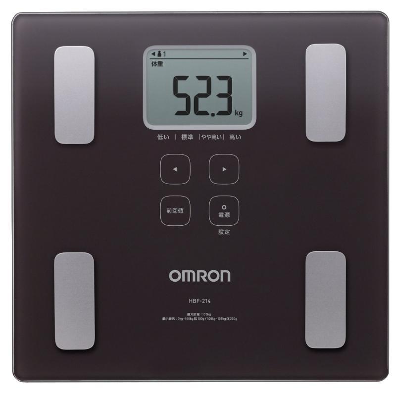OMRON歐姆龍 HBF214BW 體重體組成計