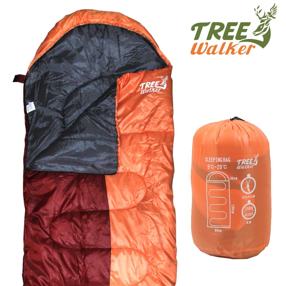 TreeWalker 露遊好眠睡袋 - 橘紅