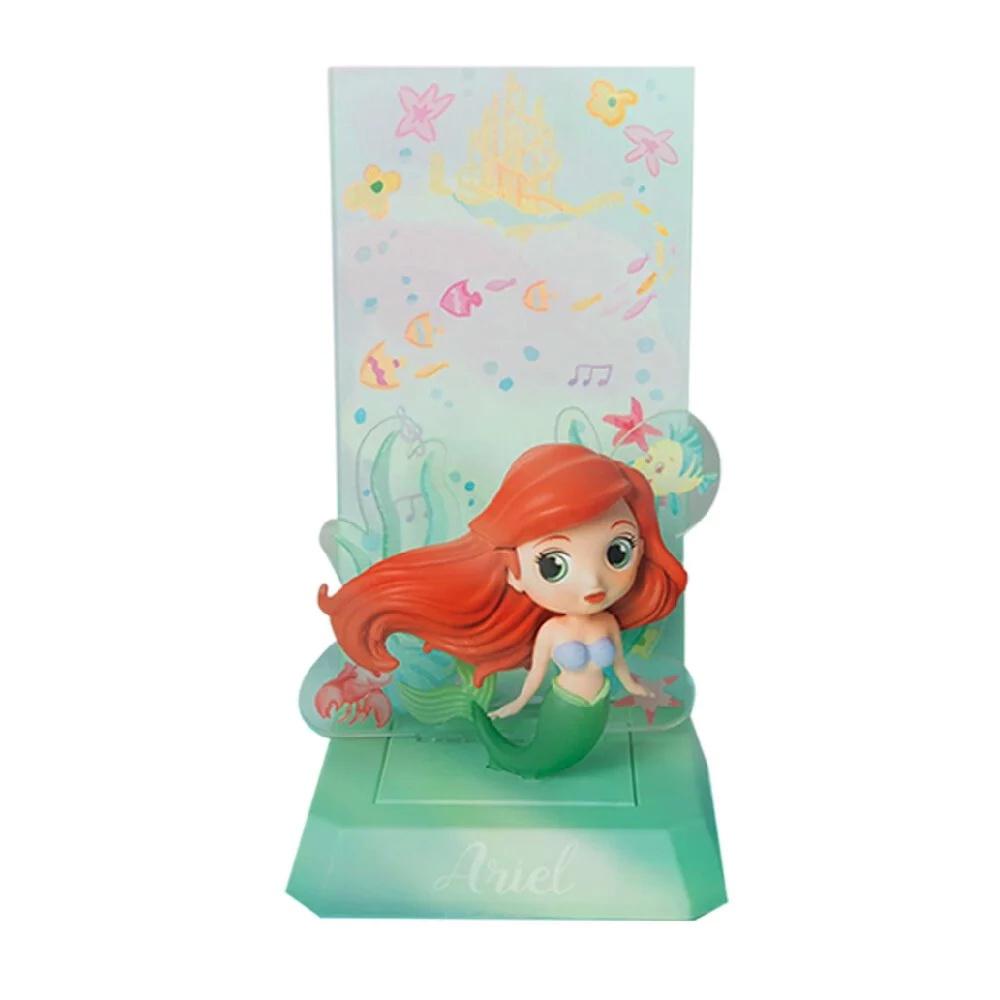 迪士尼公主系列 小夜燈無線充電座 小美人魚