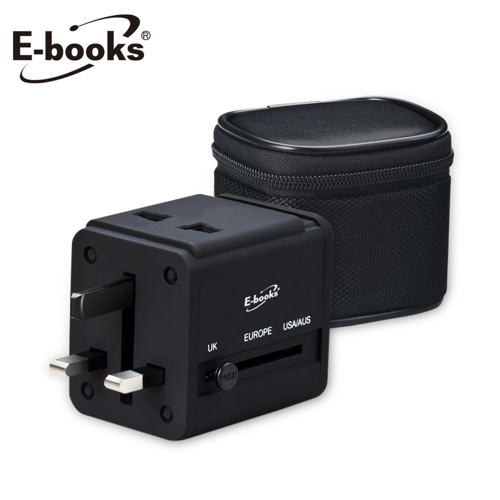E-books B27雙孔USB充電器轉接頭