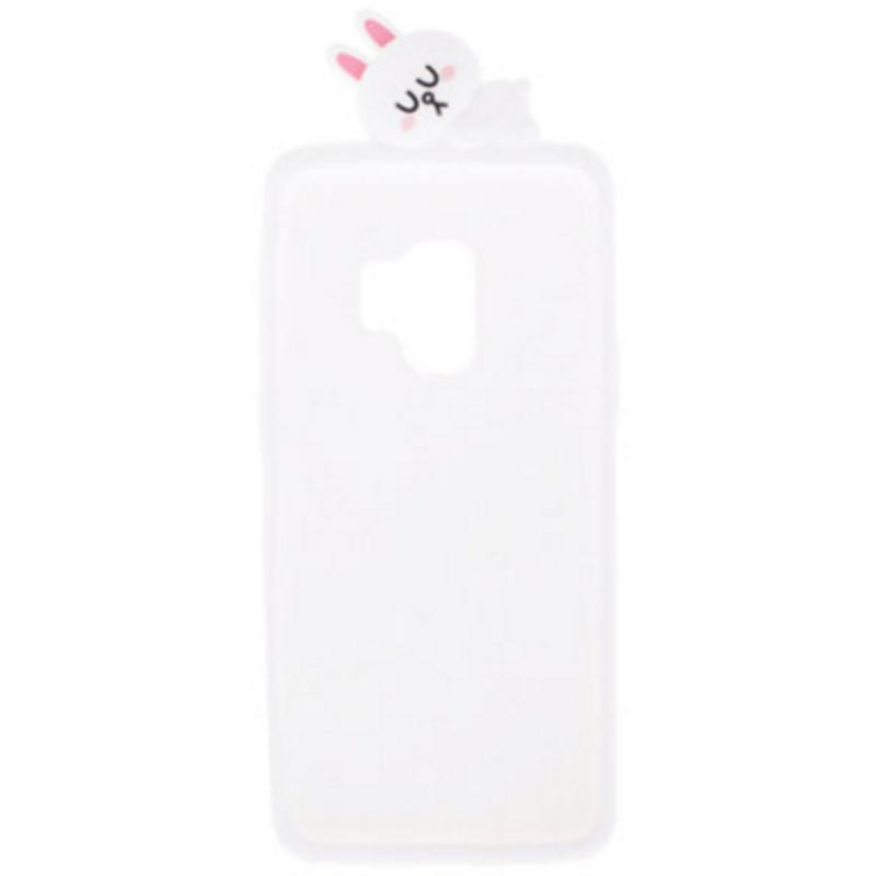 SAMSUNG Galaxy S9 LINE  Cony兔 FRIENDS 立體矽膠背蓋蓋