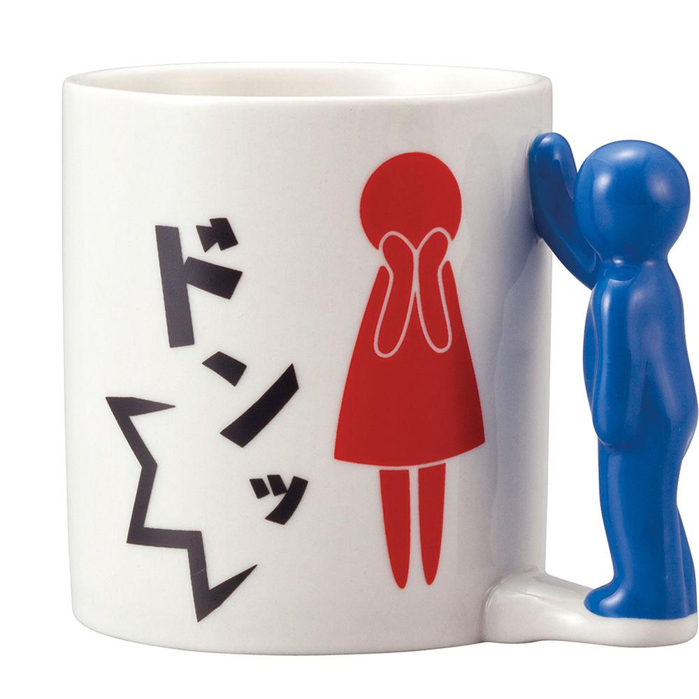 日本 sunart 馬克杯 - 壁咚