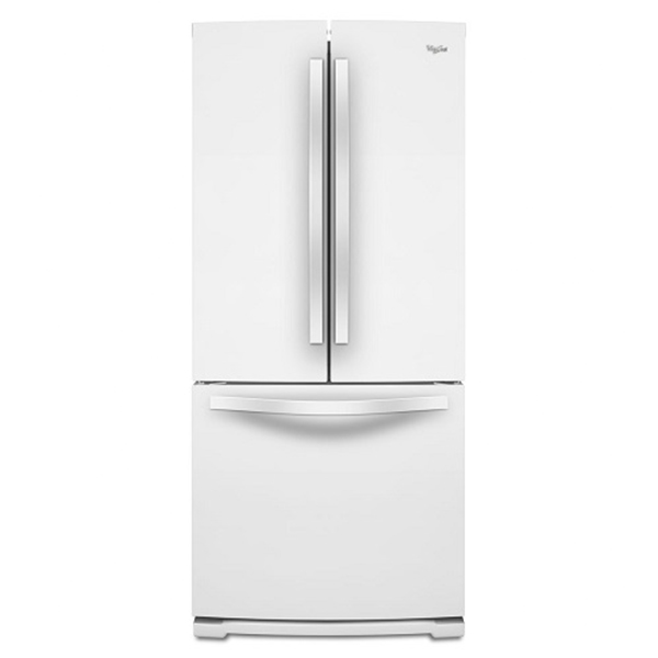 【Whirlpool惠而浦】554L法式多門典雅白冰箱(三門冰箱) WRF560SMYW