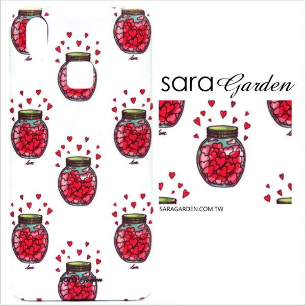 【Sara Garden】客製化 手機殼 SONY XZ2 保護殼 硬殼 愛心糖罐子